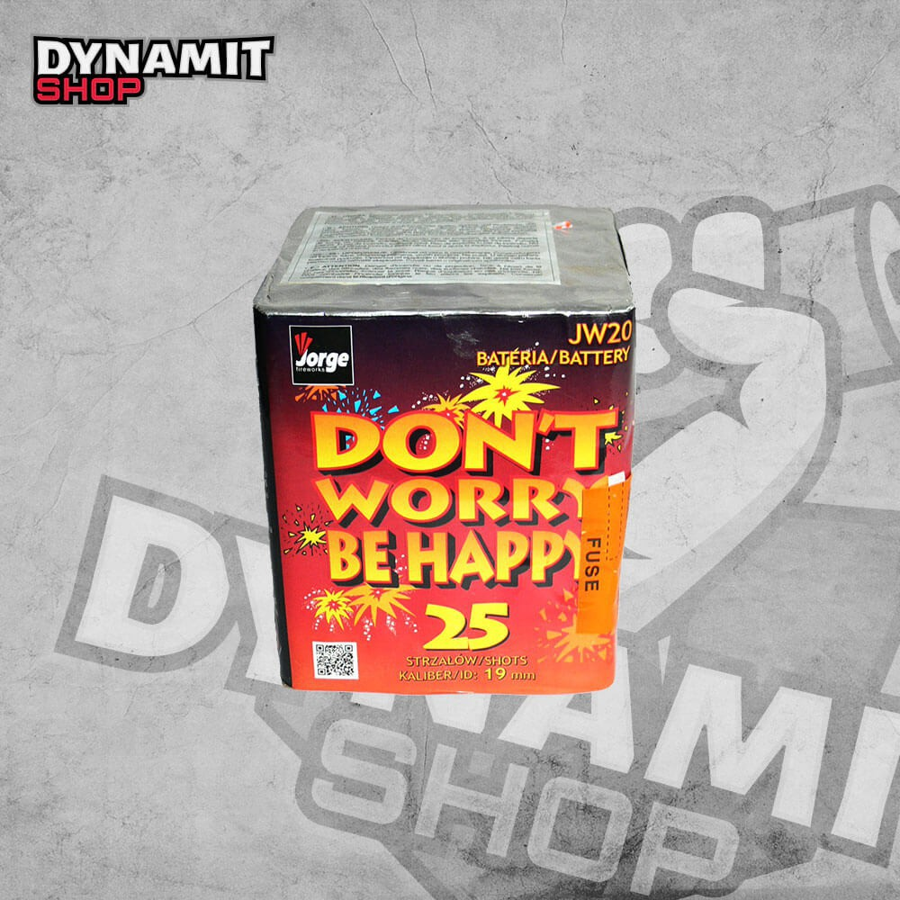Battery Don't worry be happy JW20