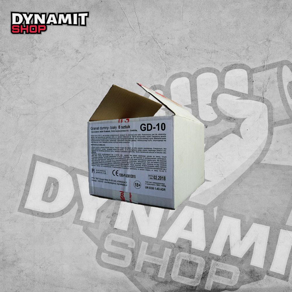 Smoke grenade GD-10 White