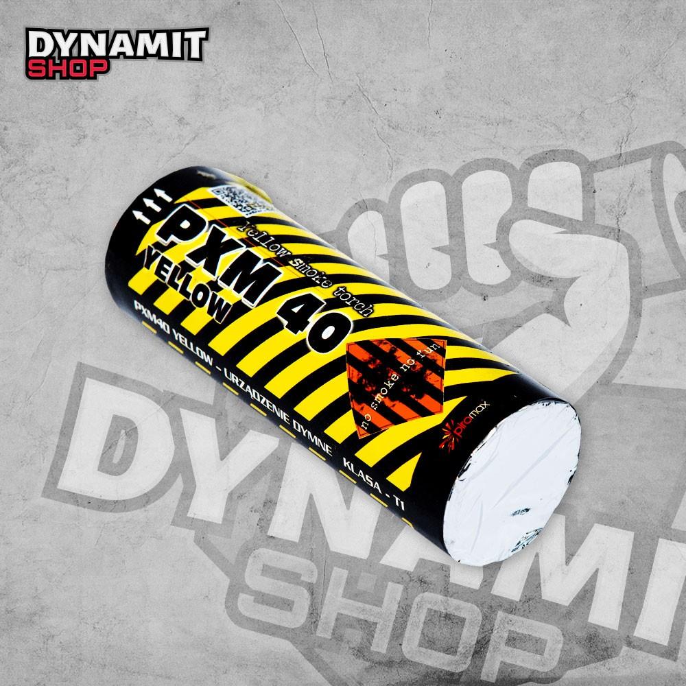 Smoke bomb yellow PXM40