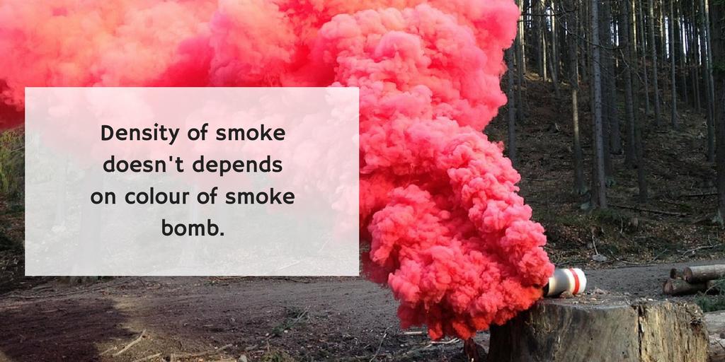 Colored smoke? Create awesome smoke effect - it's so easy